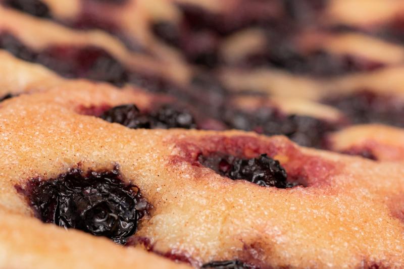 Heidelbeerchen – Variation Zuckerkuchen